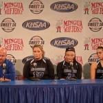 Letcher County Central Girls Basketball Sweet 16 2020 Presser vs Ryle