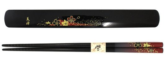 Cherry_Blossom_Themed_Red_Chopstick