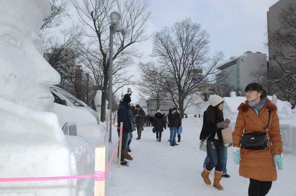 Odori_Park_Sapporo_Snow_Festival_Hokkaido