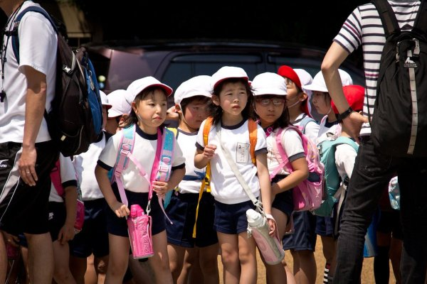 School_Children_of_Nara_Japan