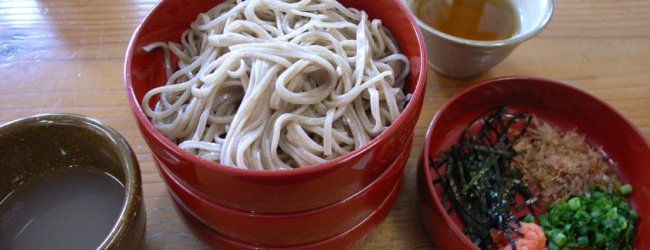 Wanko Soba in Iwate | Noodles Dish