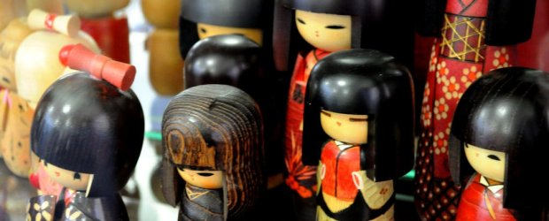 Kokeshi: Traditional  Japanese Dolls from Tohoku