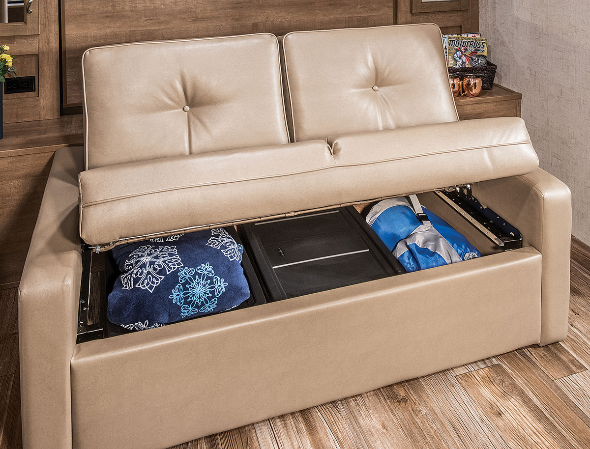 Toy Hauler Bed Couch Wow Blog