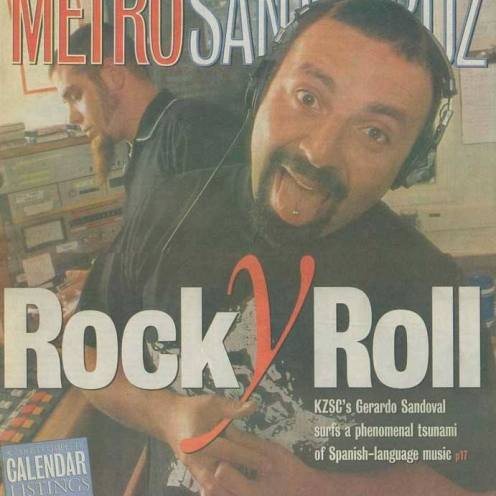 "Metro Santa Cruz - ""Rock Y Roll"" cover"