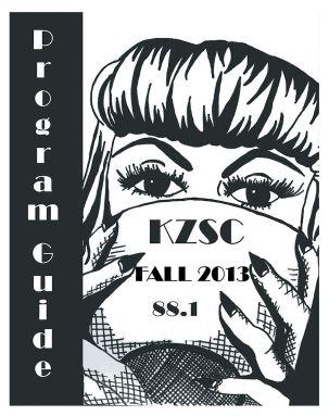 Fall 2013 Program Guide