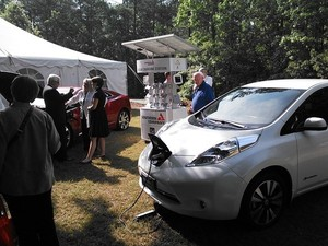 300x225 Two cars solar charging, in Slight changes at Southern Company, by John S. Quarterman, 29 May 2014