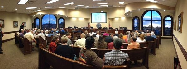 600x222 Full house, in Lowndes County Commission Regular Session, by Gretchen Quarterman, 11 November 2014