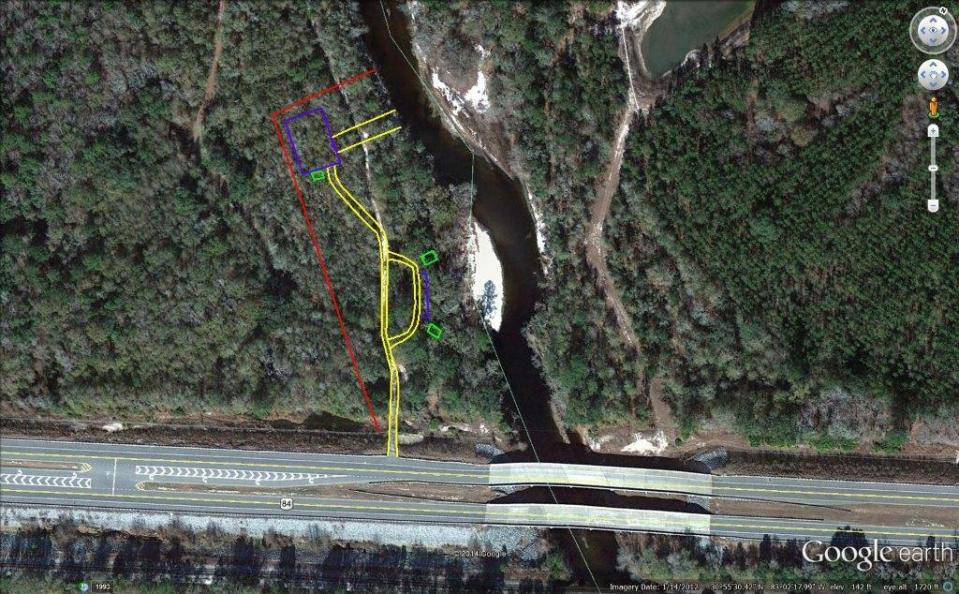 1024x634 Naylor Boat Ramp aerial, in Maps from board packet, by John S. Quarterman, 10 February 2015