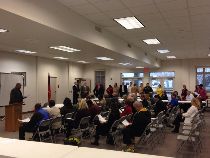800x600 Crowd picture, in ESPLOST Kickoff and Press Conference, by Gretchen Quarterman, 24 February 2015