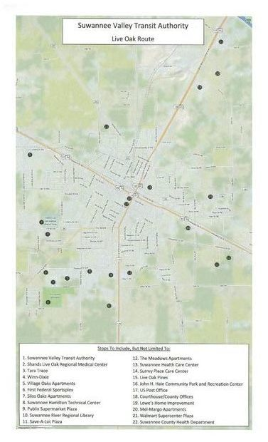 377x620 Preview map, in SVTA Bus Route, by Suwannee Democrat, 20 July 2015