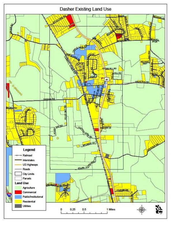 Dasher Existing Land Use Map