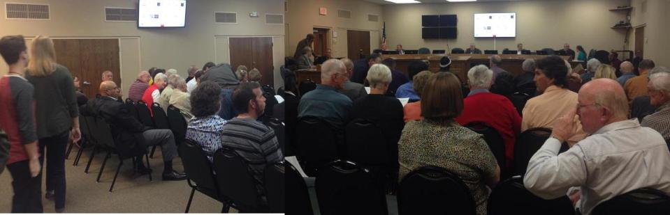 1610x519 Panorama, in Packed GLPC Meeting, by Gretchen Quarterman, 28 November 2016