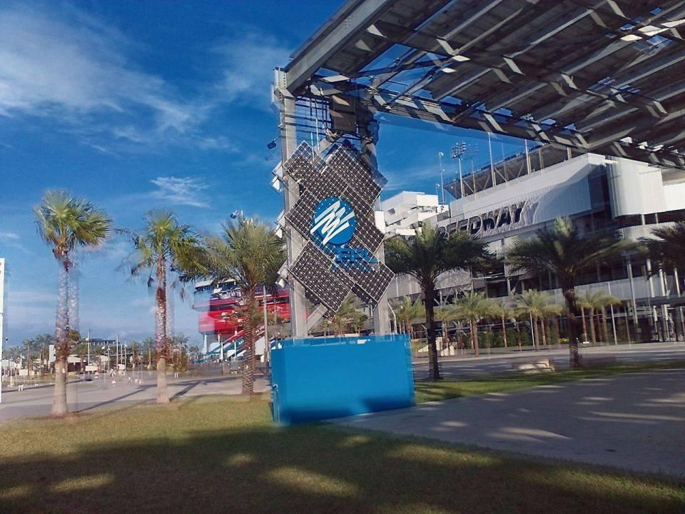 1280x960 Front gate, in Solar Panels at Daytona International Speedway, by John Horton, 30 December 2016