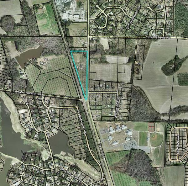 Between RR and highway, Map