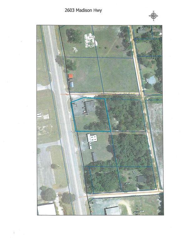 [Location Map, 2603 Madison Hwy]