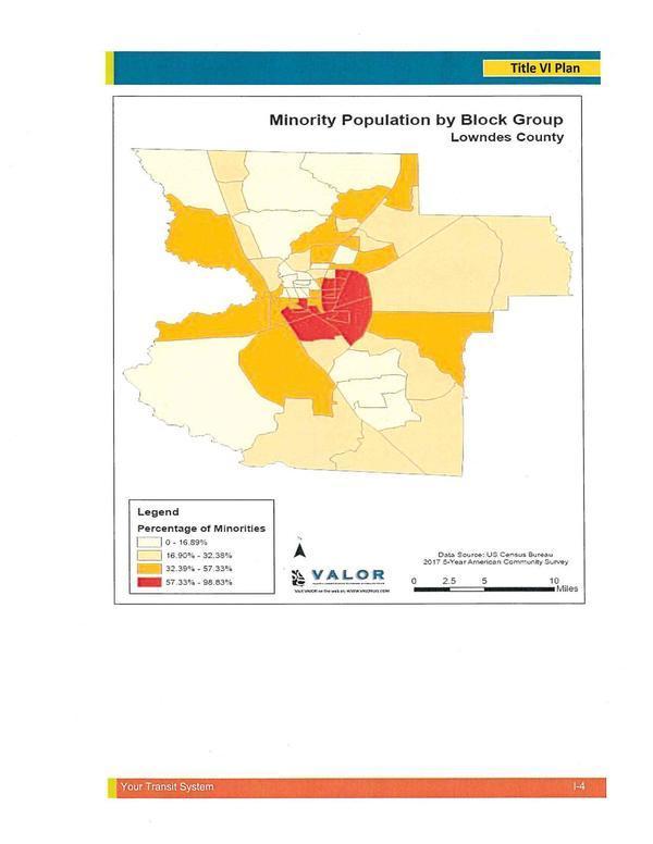 [Minority Population by Block Group]