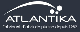 Logo Atlantika abri piscine