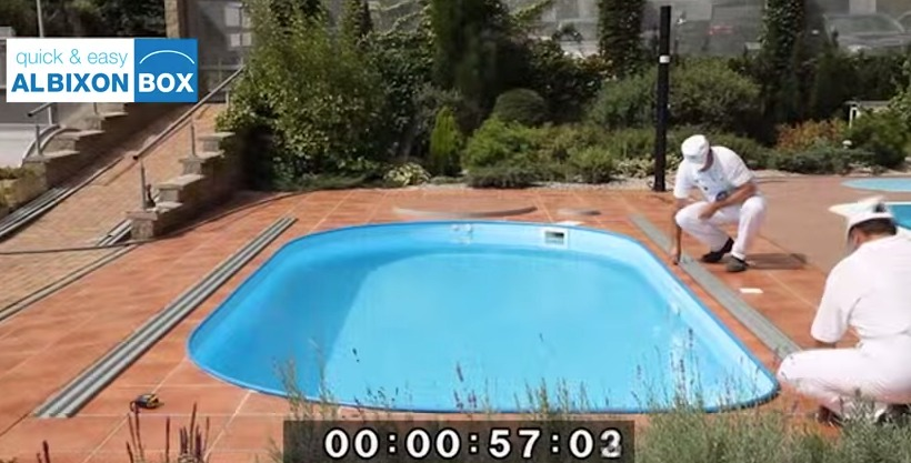 Video de montage d'un abri piscine en kit