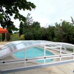 Abri piscine bas ARTECH MINEO