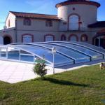Abri piscine telescopique bas Artech