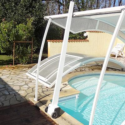 Moteur abri piscine relevable lift up
