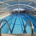 Sous l'abri piscine Roma