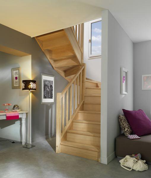 Escaliers En Hevea L Atelier Bois