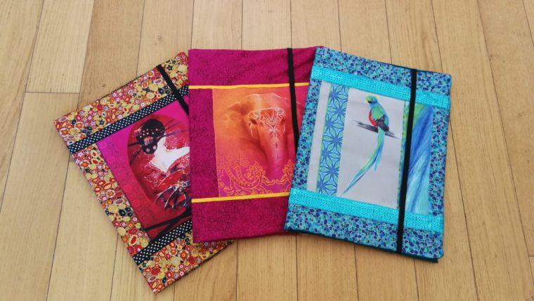 pochettes tissu