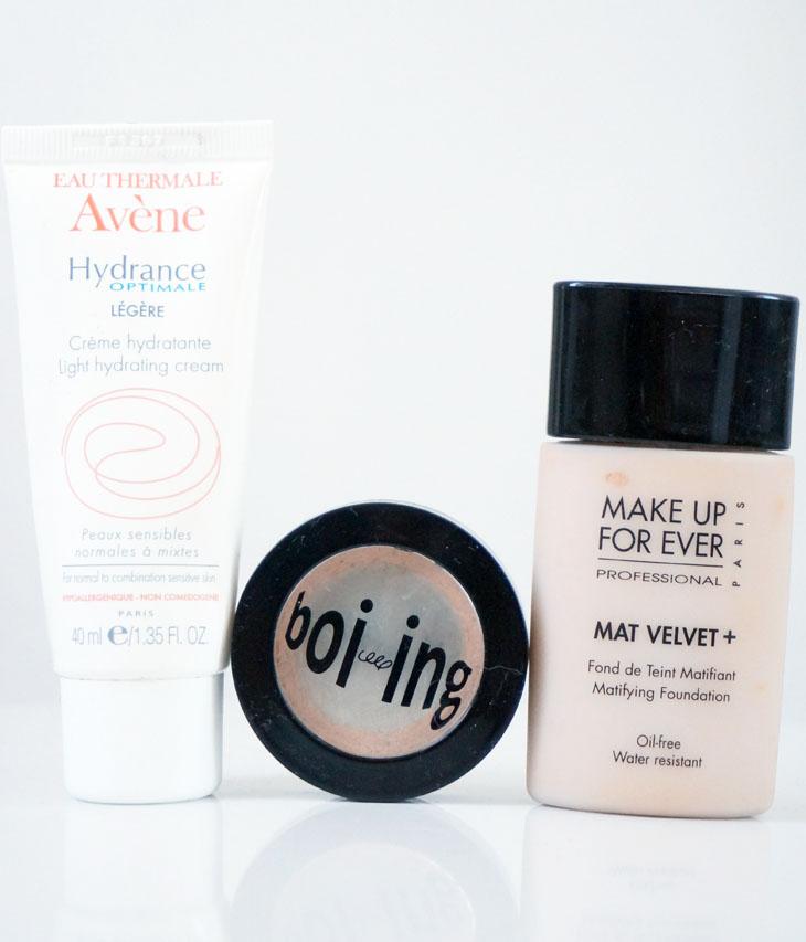 6_hydrance_legere_avene__boiing_benefit_fond_teint_mat_velvet_make_up_for_ever