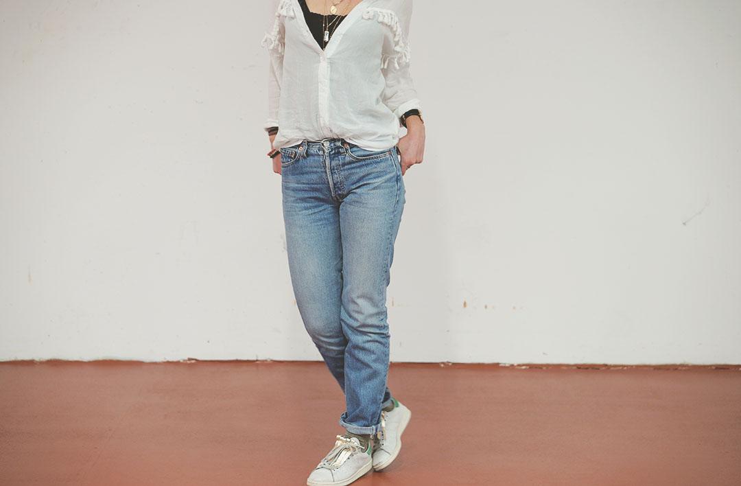 6_look_blog_mode_chemise_jubylee_jean_levis_501_vintage_stan_smith_franges_aurelie_chadaine_juste_juliette
