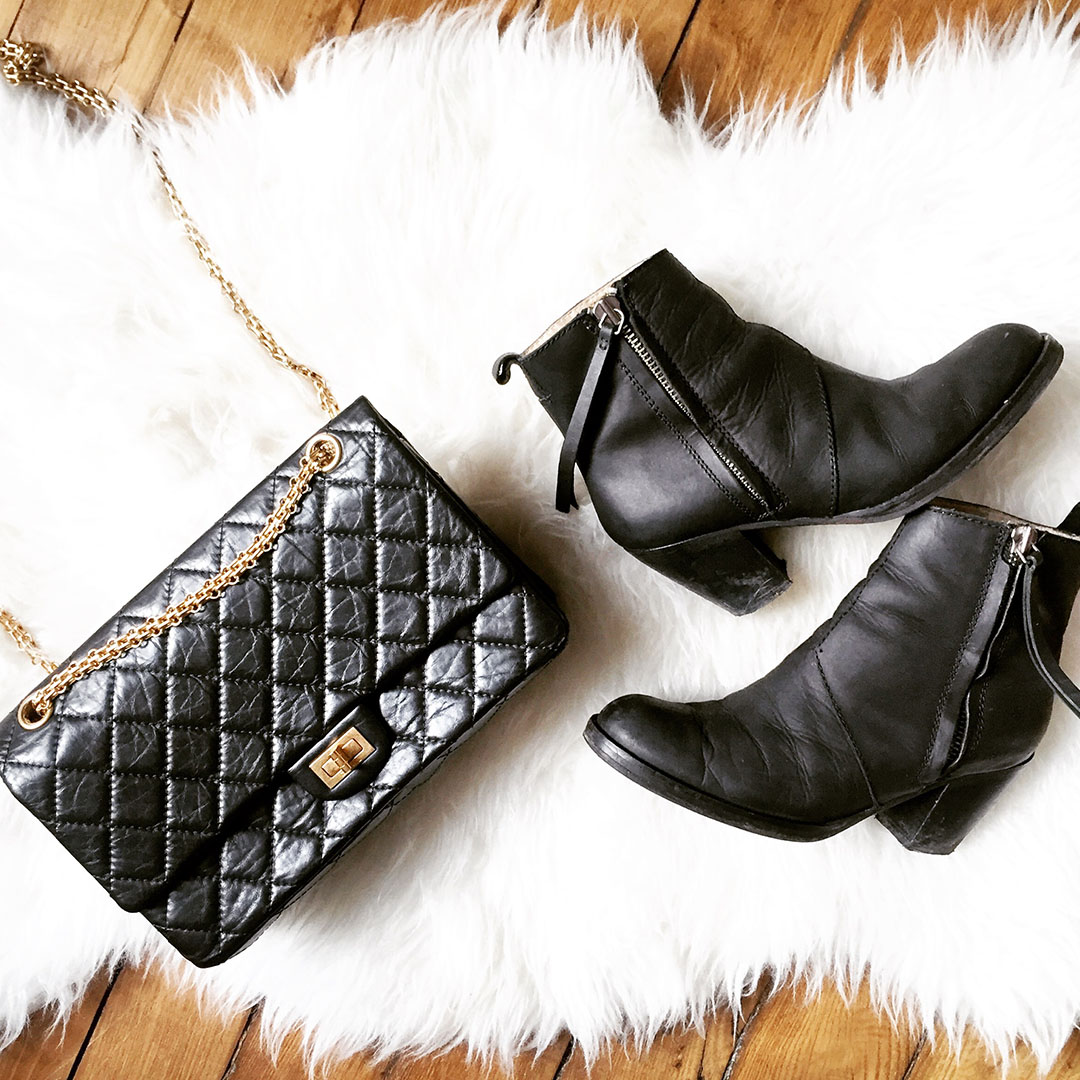 5_look_blog_mode_sac_chanel_2_55_pistol_boots_acne