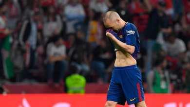 نجم برشلونة يلمح لرحيله