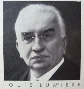 Louis Lumière dans Cinémonde (21.11.1935)