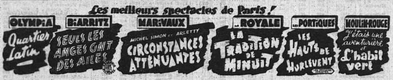 l'Intransigeant du 27 septembre 1939