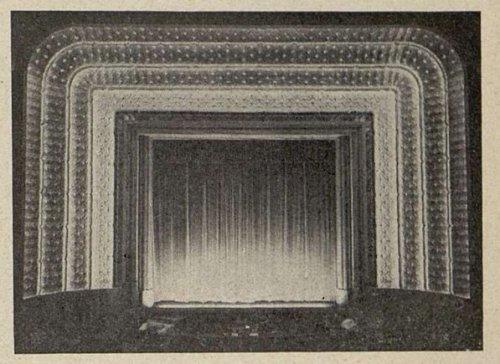 Le cadre de scène de l'Olympia (Cinémagazine 1930)