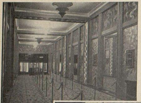 le hall de l'Olympia (Cinémagazine 1930)