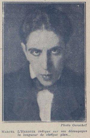 Marcel L'Herbier (Cinémagazine 1927)