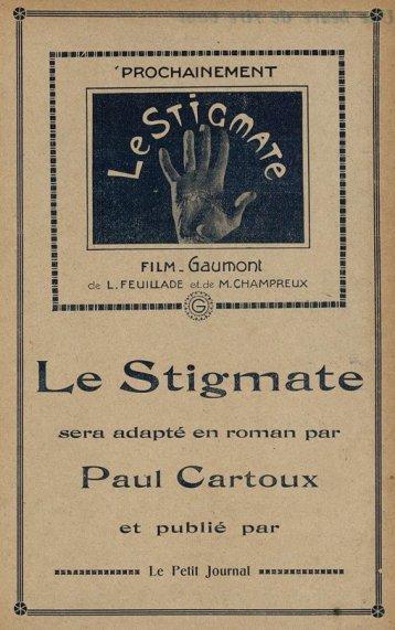 Publicité pour Le Stigmate de Feuillade (Cinémagazine 1925)