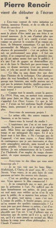 Pour Vous du 28 avril 1932