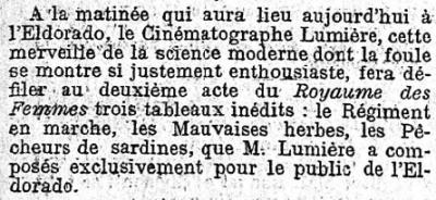 Le Figaro du 12 avril 1896
