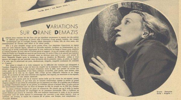 Pour Vous du 22 aout 1935