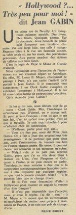 Pour Vous du 29 septembre 1937