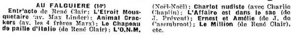 La Semaine à Paris du 7 juin 1934