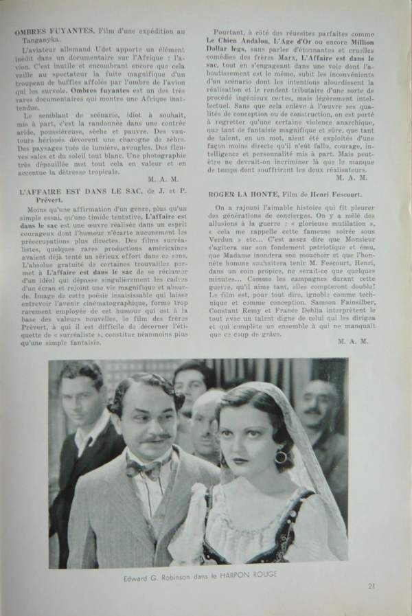 Documents 33 (juillet 1933)