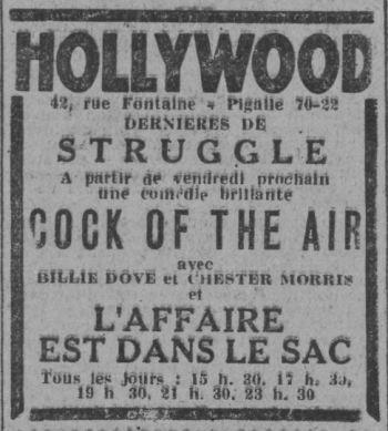 Paris-Soir du 01 décembre 1932
