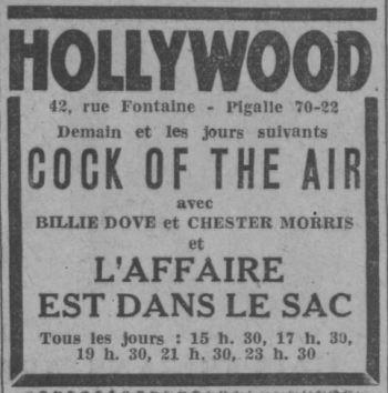 Paris-Soir du 02 décembre 1932