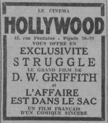 Paris-Soir du 23 novembre 1932