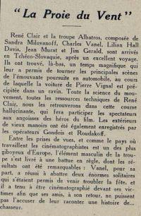 Cinémagazine du 1 octobre 1926