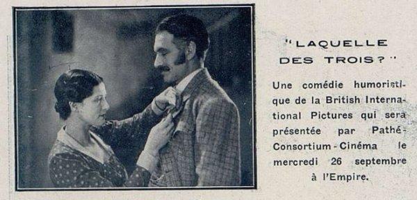 Cinémagazine du 21 Septembre 1928