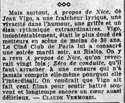 L'Intransigeant du 16 novembre 1934